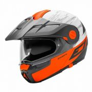Schuberth E1 Adventure Crossfire Orange